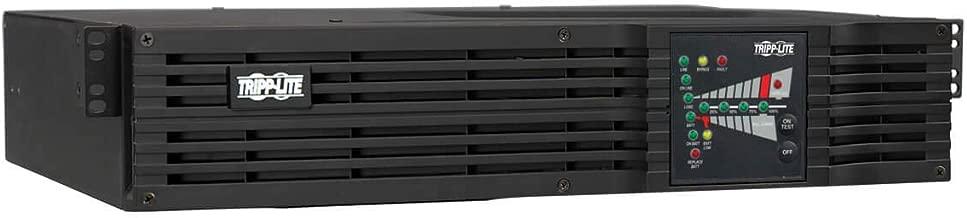 Tripp Lite 2200VA Smart Online UPS Battery Backup, 1600W Double-Conversion, 2U Rack/Tower, Extended Run, Pre-installed WEBCARDLX Network Interface, USB, DB9 Serial (SU2200RTXL2UN)