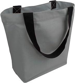 Cottonbagjoe stylische geräumige Tragetasche | mit Innentasche, Reißverschluss, und großem Boden | 1 Stück, Natur | Baumwo...