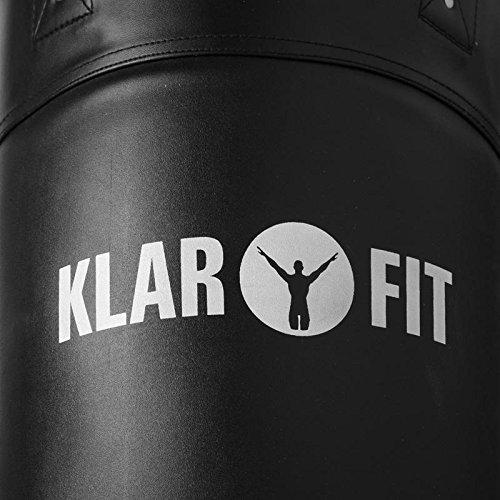Klarfit Klimmzugstange-Boxsack-Kombination Klimmzug mit  Reckstange  Abbildung 2