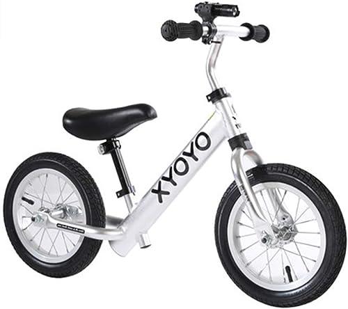 mejor calidad FFAJ Equilibrio para Niños Niños Niños Scooter Infantil 1-3-6 años Bicicleta Doble Rueda de Aluminio sin Pedal Deslizante (Color   C)  precioso