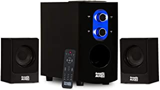 Acoustic Audio AA2130 Bluetooth Home 2.1 Speaker System for Multimedia Computer Gaming