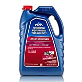 PEAK OET Extended Life Red/Pink 50/50 Prediluted Antifreeze/Coolant for Asian Vehicles, 1 Gal.