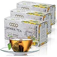 SENNA TEE - laxante, desintoxicación, pérdida de peso, 3 x 20 bolsitas de té, 100% natural