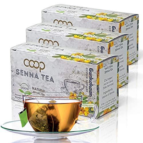 Senna Tee - Abführmittel, Detox, Gewichtsverlust, 60 Teebeutel