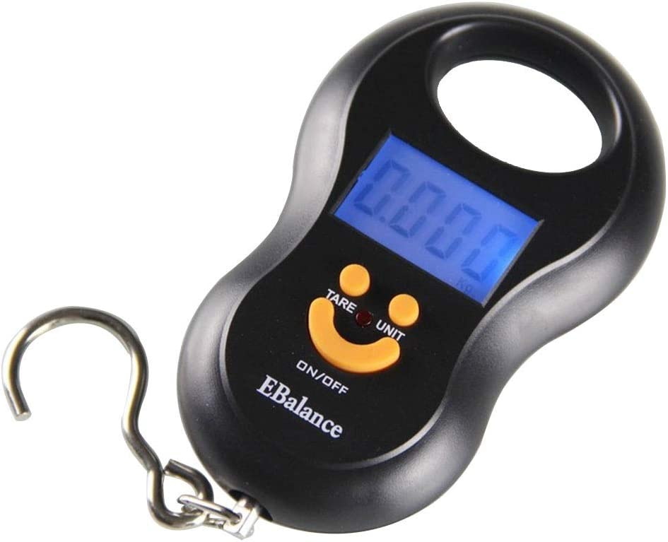 WCX Easy-to-use Digital Baggage Scale Tare Function Portable Suitcase Weigh sale