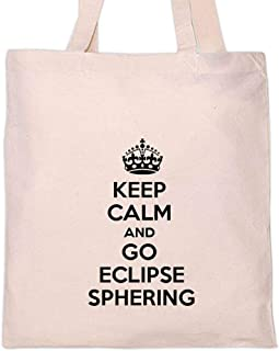 Custom Brother - KEEP CALM AND GO ECLIPSE SPHERING Sport Sports Tote Bag