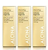3er E Kühlendes Augen Gel pflegende Kosmetik Alcina kühlt und
