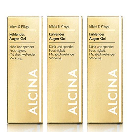 3er E Kühlendes Augen Gel pflegende Kosmetik Alcina kühlt und spendet Feuchtigkeit je 15 ml= 45 ml