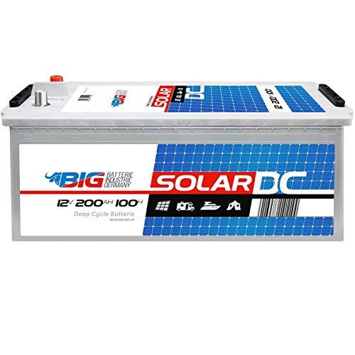 BIG Solarbatterie 12V 200Ah Versorgung Notstrom Windkraft Batterie statt 180Ah