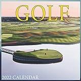 Golf Calendar 2022 - gift for golf lovers: Sport Calendar 2022 - Office Calendar 2022 Size 8.5 x 8.5 Inch,12 Month Calendar 2022