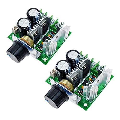 JZK 10A 12V - 40V DC motor controlador de velocidad regulador, interruptor de control de velocidad continuo, módulo regulador de motor PWM DC para ventilador de bomba