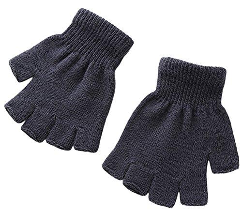 X&F Boys' and Girls' Solid Knitt...
