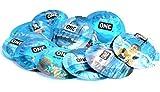 ONE Pleasure Plus The New Shap of Pleasure for Maximum Pleasure Lubricated Latex Condoms Bulk - 100 Latex Condoms