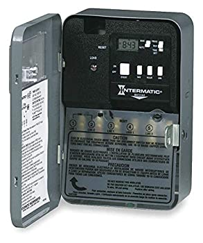 INTERMATIC Electronic Water Heater Timer 30 Amps 240VAC Voltage Number of Channels  1