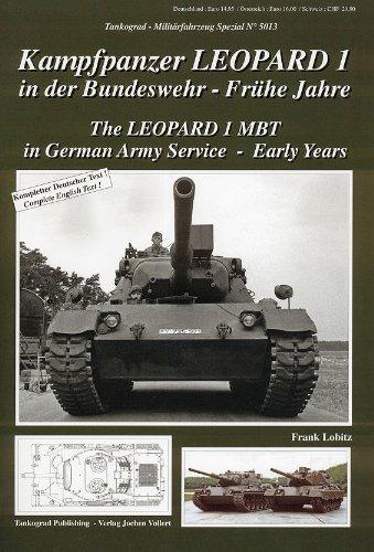 Tankograd 5013 Kampfpanzer Leopard 1 in der Bundeswehr – Frühe Jahre