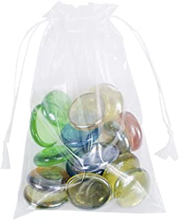 APQ Pack of 100 Clear Drawstring Bags 4 x 6. Double Cotton Drawstrings Polyethylene Bags 4x6. FDA Approved, 2 mil. Clear Plastic Bags for Packing and Storing. Ideal for Industrial and Promotional use.