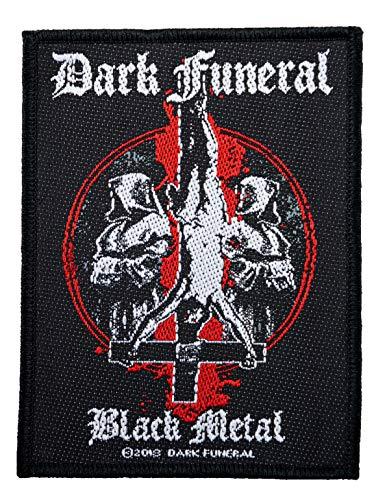 Dark funeral Black Metal Parche tejido & licencia !
