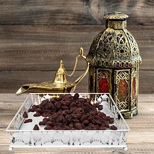 decwang Islam Eid Mubarak Decoraciones Muslim Fiesta Sirviendo Vajilla Trans Mostrar Decoración Alimentación Alimentación Contenedor para Party Food Fruit Snack Sirviendo Vajilla