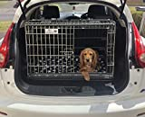 Nissan Juke Dog Puppy Pet sloped Car travel training carrier crate,cage,