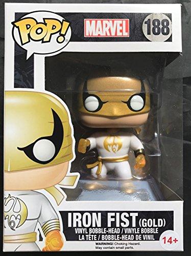 Funko Figurine Marvel - Iron Fist - White And Gold Suit [Importacion francesa]