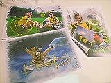 3 ganz tolle Kunstdrucke mit AUBAMEYANG zum Preis von 2
