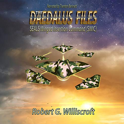 The Daedalus Files: SEALS Winged Insertion Command (SWIC) audiobook cover art