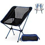 Nacatin Chaise de Plage Pliante Légère et Solide avec Sac de Transport , pour la randonnée /Pêche /Barbecue pique-nique...