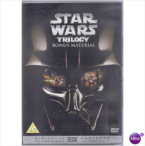 Star Wars Trilogy Bonus Material DVD Digitally Mastered