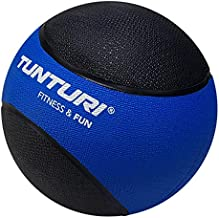 Tunturi Medicine Ball, Blue and Black - 4 kg
