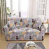 Fundas de sofá en forma de L alta elasticas para 1 2 3 4 plazas,funda de sofá impresas seccional dos plazas para perros gatos mascotas niños,funda para sofá protector de muebles (Color:D,Size:4-Se