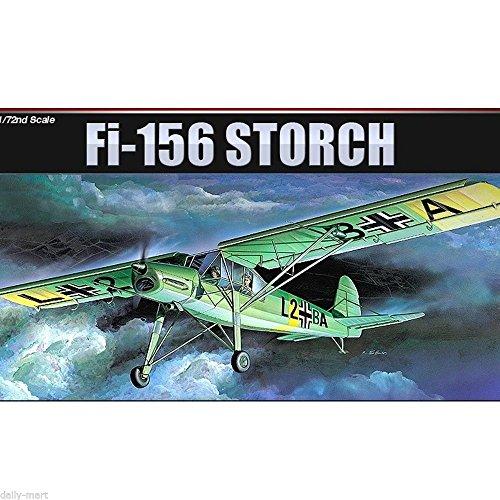 Academy 1/72 12459/1661 Fieseler FI. 156 Storch (M.S. 500/502) Model Kit /item# G4W8B-48Q57427