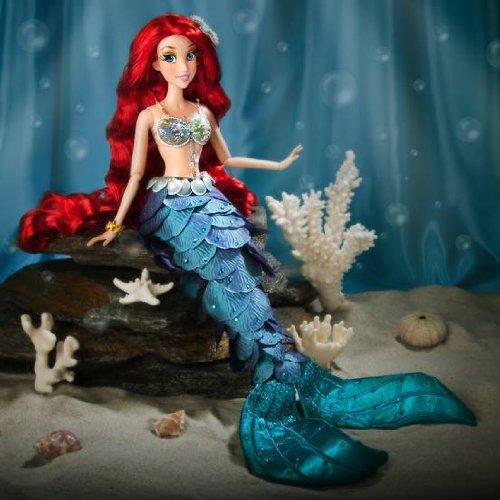 Disney Store - Muñeca Ariel Sirenita Princesa Edición Limitada Barbie 1/6000