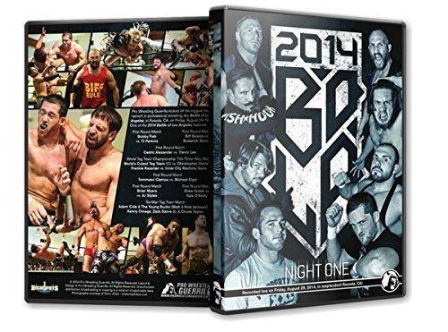 Pro Wrestling Guerrilla - Battle of Los Angeles 2014 - Night 1 DVD by AJ Styles