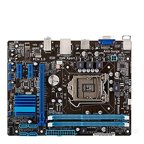 Fit for ASUS P8H61-M LX3 Plus R2.0 Placa Base de Escritorio H61 Socket LGA 1155 I3 I5 I7 DDR3 16G Uatx UEFI BIOS Placa Base de computadora
