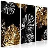 murando Cuadro en Lienzo Hojas 135x90 cm Impresión de 3 Piezas Material Tejido no Tejido Impresión A...