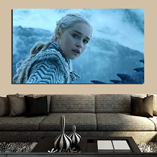 KWzEQ TV-Serie Saison Poster Leinwand Wandkunst Poster drucken Moderne Wandbild für Heimtextilien,Rahmenlose Malerei,40x70cm