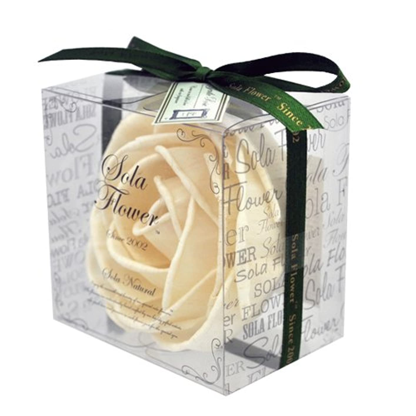 カートン金銭的タイルnew Sola Flower ソラフラワー ナチュラル Gentle Rose ジェントルローズ Natural