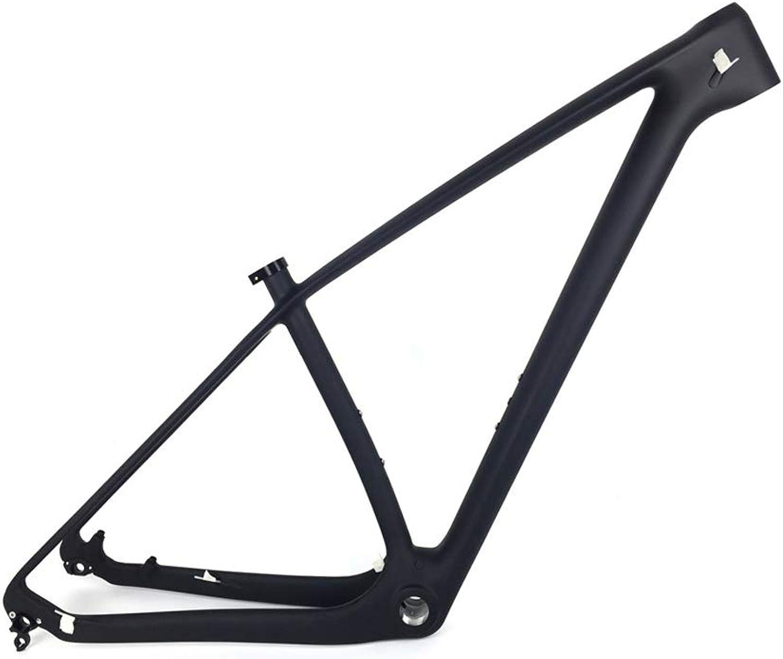 Fasteam 27.5er Full Carbon Mountain Bike Frame 650B MTB Bicycle Carbon Frame BSA 73mm Size 15  17  19  Black Matt