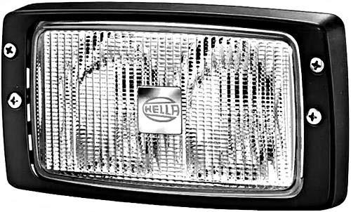 HELLA 1GB 996 080-011 Arbeitsscheinwerfer - Double-Beam - FF/Halogen - H3 - 12V/24V - Einbau - Bodenausleuchtung - Kabel: 250mm - Stecker: AMP