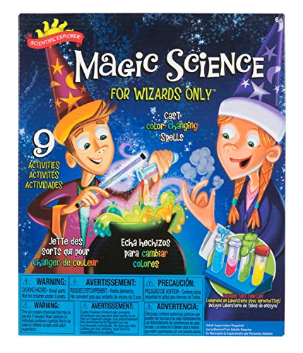 Product Image of the Scientific Explorer Scientific Explorer Magic Science for Wizards Only Kids...