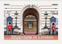 Stippvisite in London (Wandkalender 2022 DIN A3 quer): Stippvisite in London mit markanten Sehenswuerdigkeiten (Monatskalender, 14 Seiten )