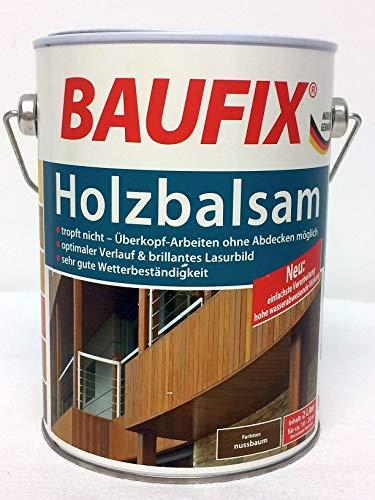 Baufix Holzbalsam Nussbaum 4 Liter (2x 2 Liter)