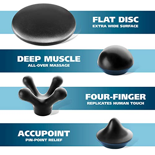 Wahl Deep Tissue Percussion Massager - Handheld Therapy with Variable Intensity to Relieve Pain in the Back, Neck, Shoulders, Muscles & Legs for Arthritis, Sports, Plantar Fasciitis & Tendinitis