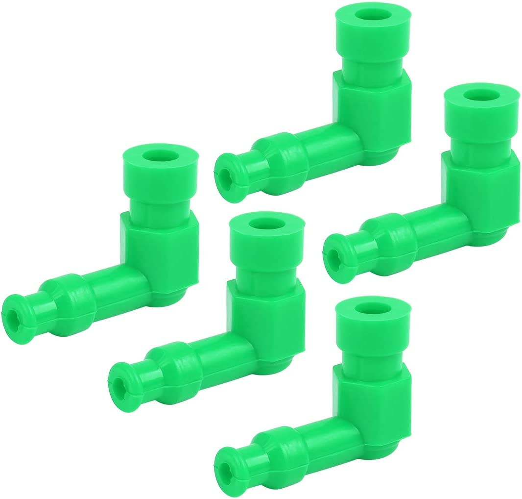 X AUTOHAUX Spark Plug Cap New Shipping Free Boot Silicone 90 Waterproof Degr Green Super beauty product restock quality top!