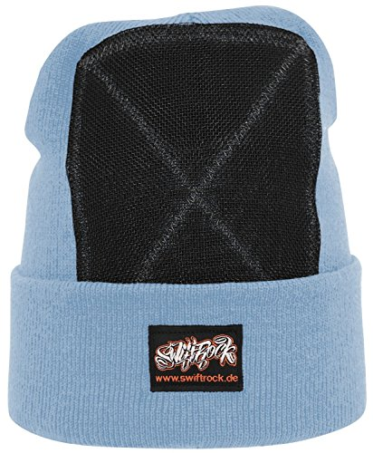 Swift Rock Classic Breakdance Bonnet headspin, Bleu layette, Taille unique