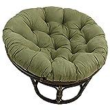 KKLTDI Rattan Papasan Chair Cushion, Soft Round Removable Hanging Egg...