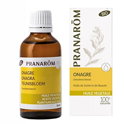 Pranarôm | Huile Végétale Onagre Bio | Riche en Acide Gras Gamma-Linolénique | 50 ml