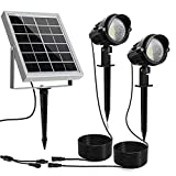 MEIKEE Solar Outdoor Spotlight 2 in 1, Solar...