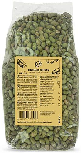 KoRo - Edamame Bohnen geröstet & gesalzen 750 g - Knuspriger Snack für Zwischendurch ohne Öl geröstet und ohne künstliche Zusätze