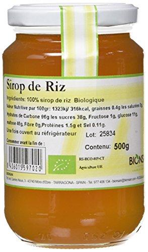 BIONSAN - BIO - Sirop de Riz 500 g - Lot de 2